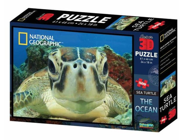 National Geographic 3D Sea Turtle Puzzle