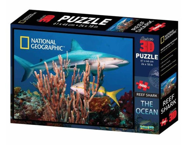 National Geographic 3D Reef Shark Puzzle