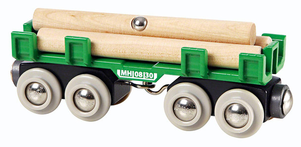 Lumber Loading Wagon Train by Brio