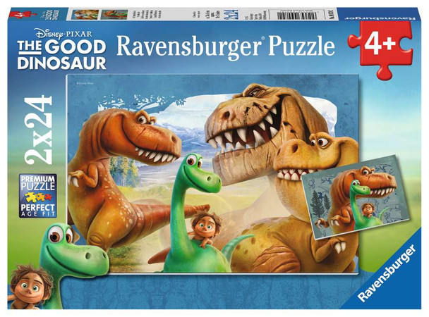 The Good Dinosaur 2 x 24 pc Puzzle