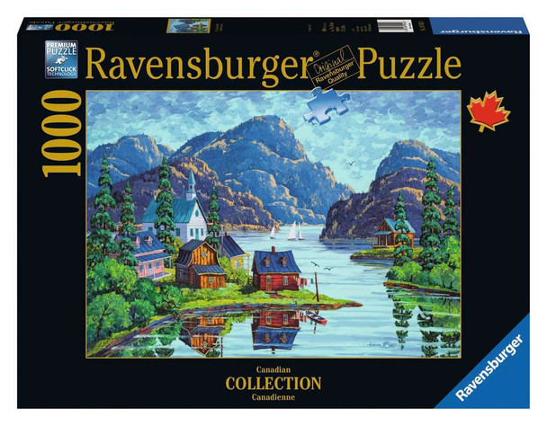 The Saguenay Fjord 1000 pc Puzzle