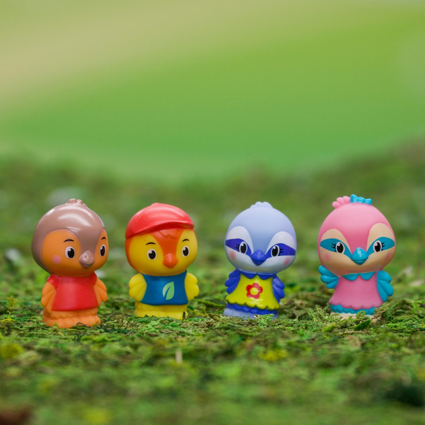 Twitwit Timber Tot Family