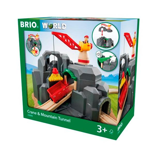 Brio Crane & Mountain Tunnel