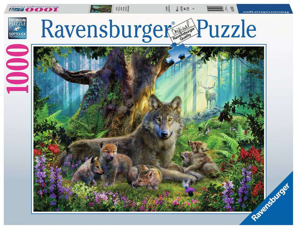 Wolves in the Forest 1000 pc Puzzle