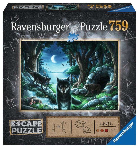 Curse of the Wolves Escape Puzzle