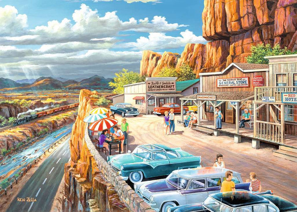 Scenic Overlook LF 500 pc Puzzle