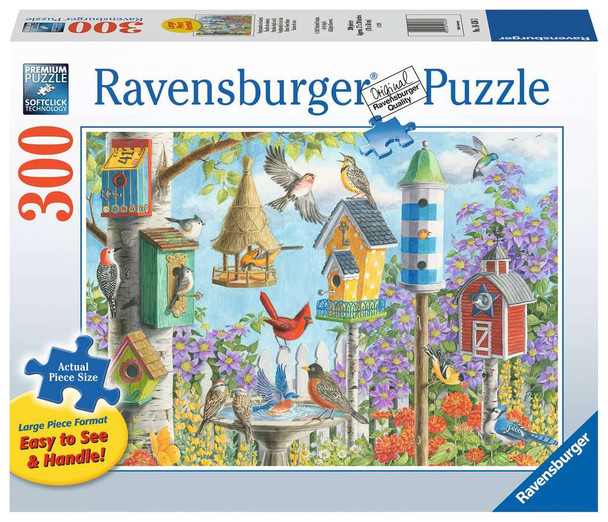 Home Tweet Home 300 pc Large Format Puzzle