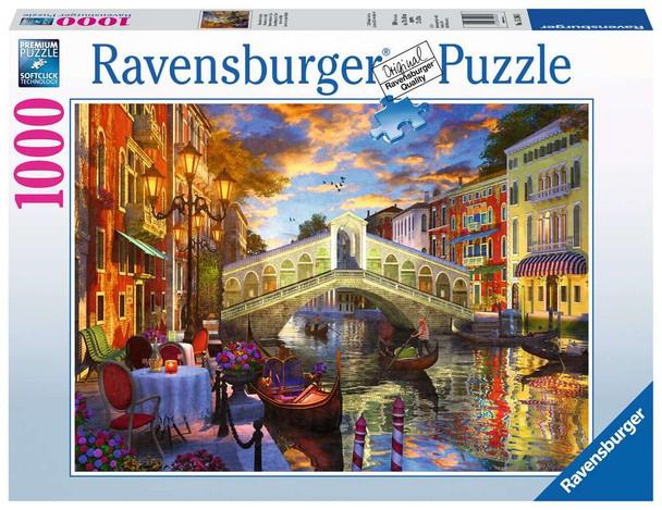 Sunset over Rialto 1000 pc Puzzle