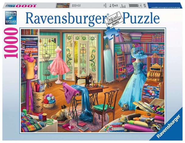 The Seamstress Shop 1000 pc Puzzle