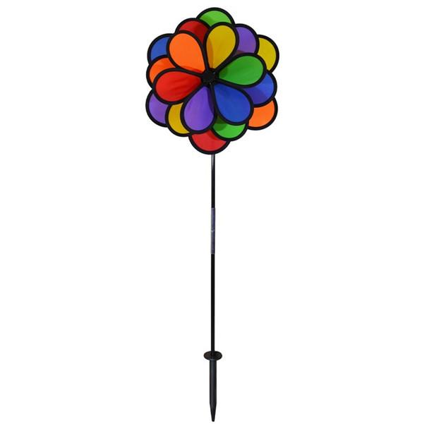 18 Petal Triple Flower spinner