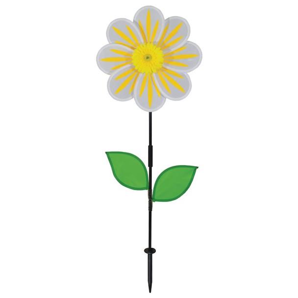 White Daisy Flower Spinner