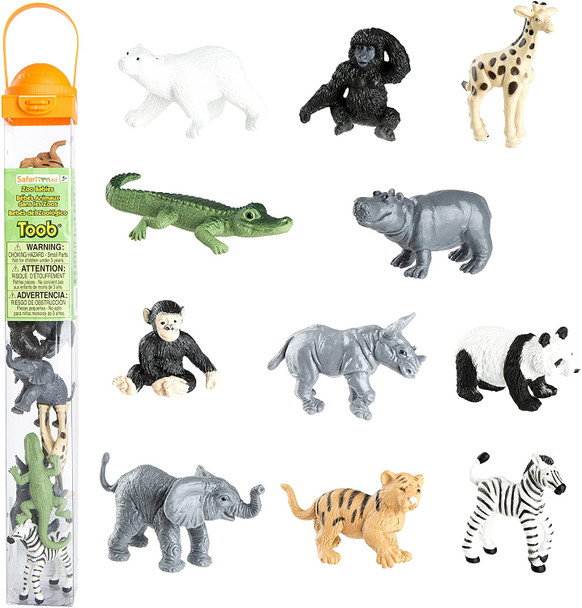 Zoo Babies Toob by Safari Ltd