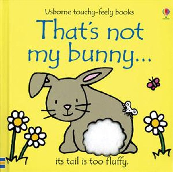 That's Not My Bunny Touch Feel book
