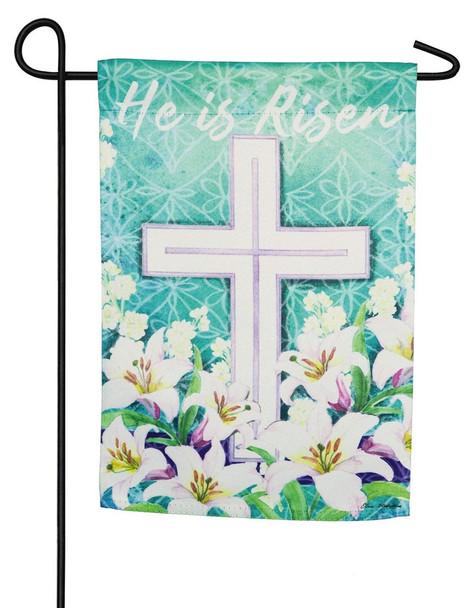 Easter Cross Mini Garden Banner