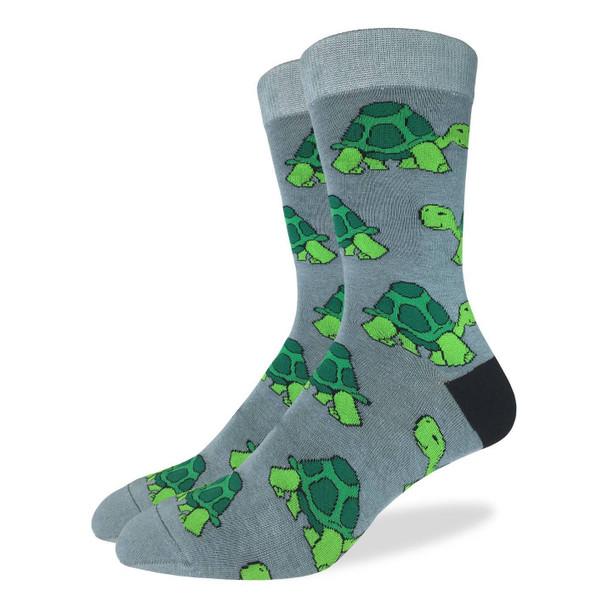 Turtle socks by Good Luck Socks