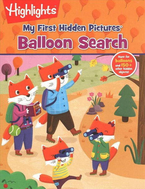 Balloon Search First Hidden Picture by Highlights