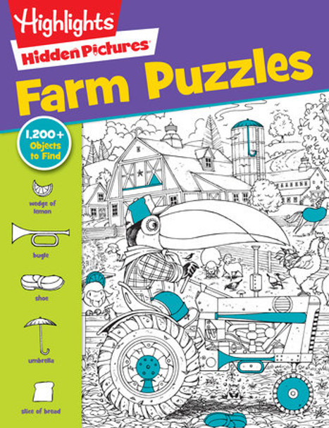 Farm Puzzle book by Highlights