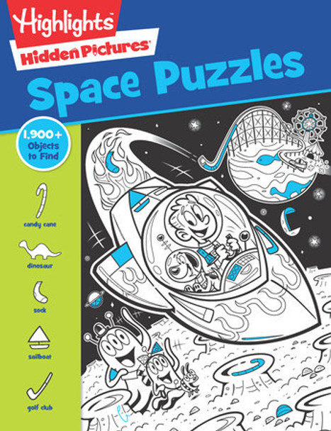 Space Puzzle book by Highlights