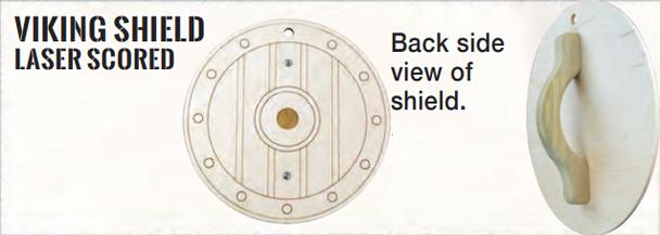 Viking Wood Shield