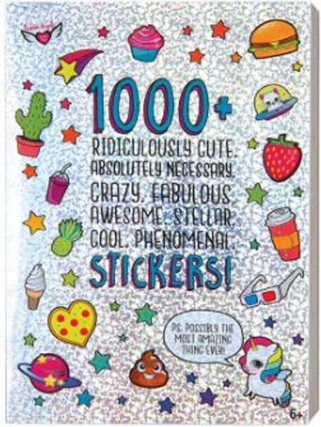 Ridiculously Cute Stickers Book