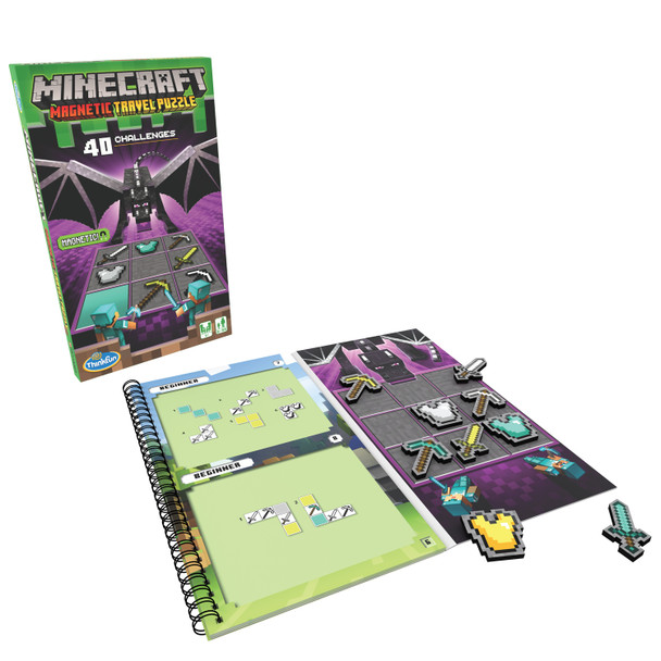 Minecraft Magnetic Travel Puzzle by ThinkFun