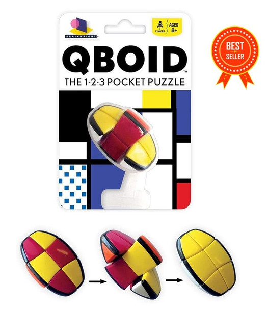 Qboid 1-2-3 puzzle by Gamewright