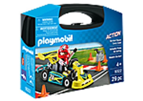 Playmobil Go-Kart Racer Carry Case