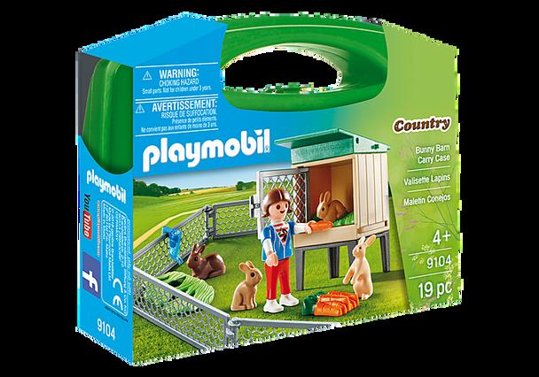 Playmobil Bunny Farm Carry Case
