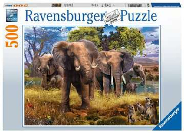 Ravensburger Elephant 500pc  Puzzle