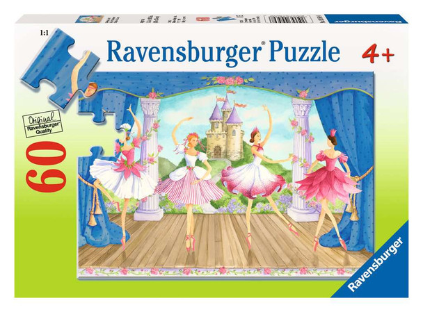 Fairy tale Ballet 60 pc puzzle by Ravensburger