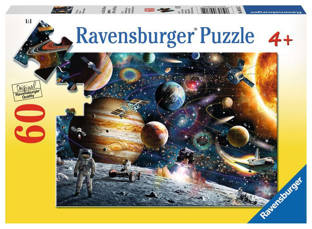 Outer Space 60 pc puzzle by Ravensburger
