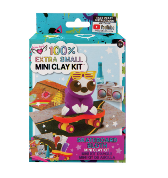 FA Skateboard Sloth Clay Kit
