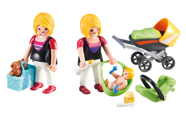 Pregnant Woman and Baby- Playmobil