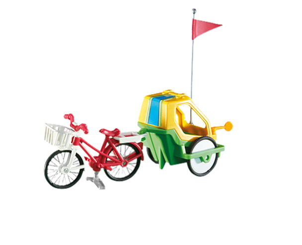 Bike with Childs Trailer- Playmobil