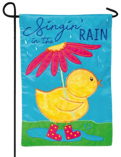 Singin' in the Rain Mini Garden Banner