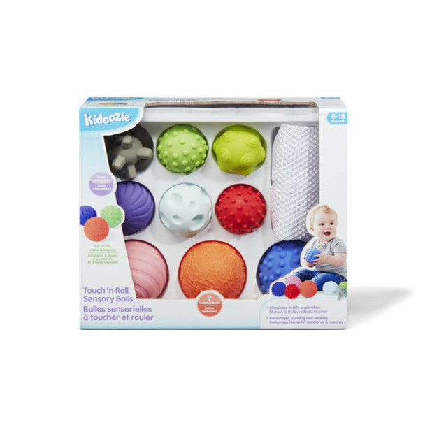 Touch 'n Roll Sensory Balls for Early Childhood Development