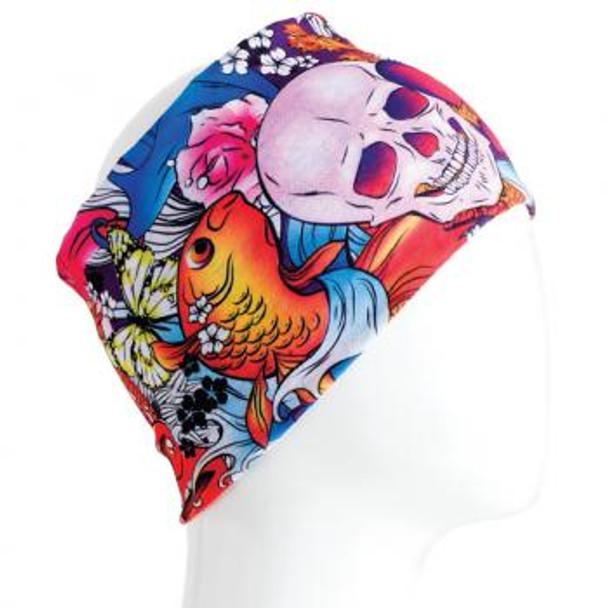 Colorful Skulls Infinity Bandana