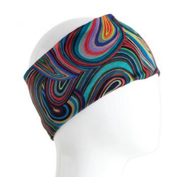Colorful Swirls Infinity Bandana
