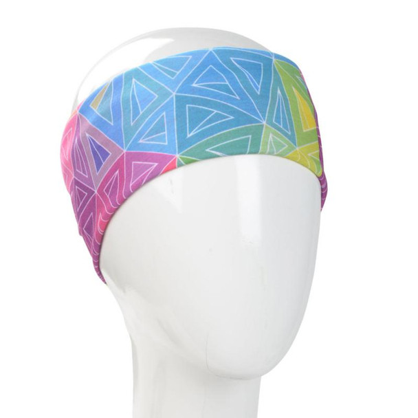 Colorful Geometric  Infinity Bandana
