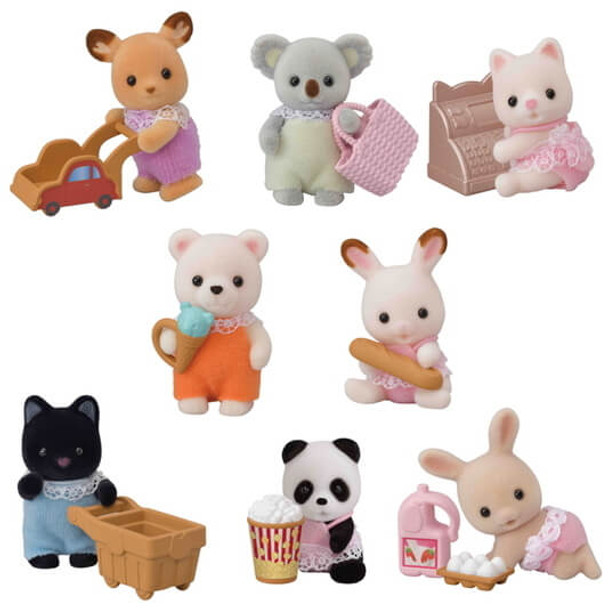 Calico Critters Shopping Blind Bag