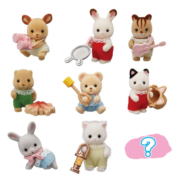 Calico Critters Baby Camping Blind Bag