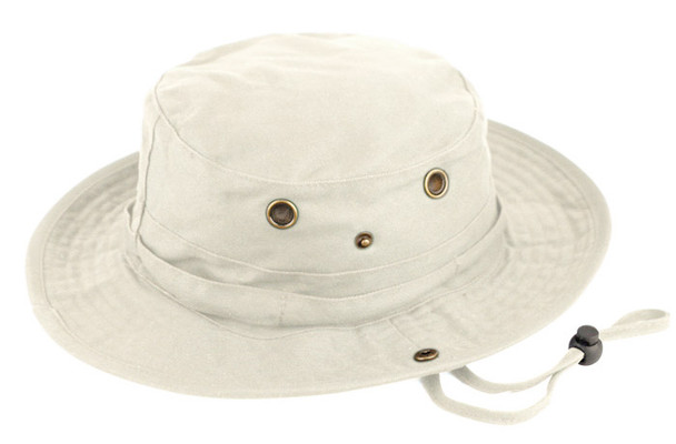Safari Bucket Hat - Stone