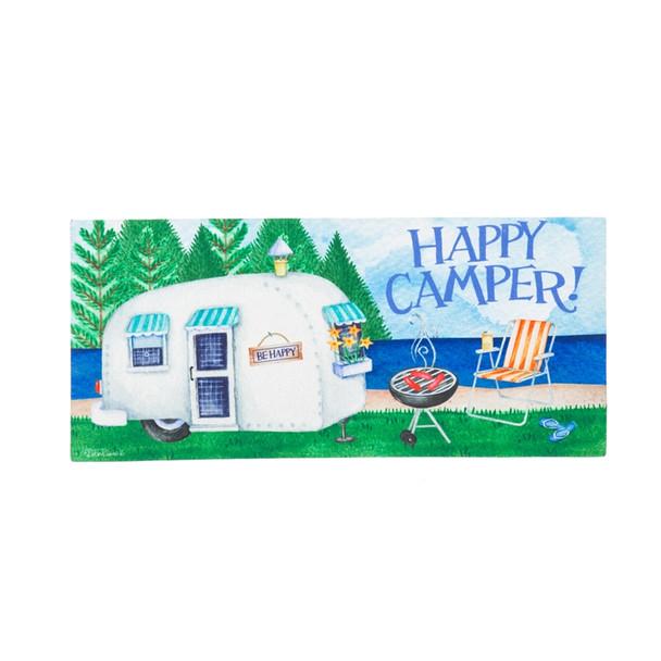 Happy Camper Sassafras Mat by Evergreen