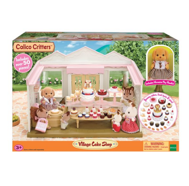 Calico Critters Village Cake Shop
