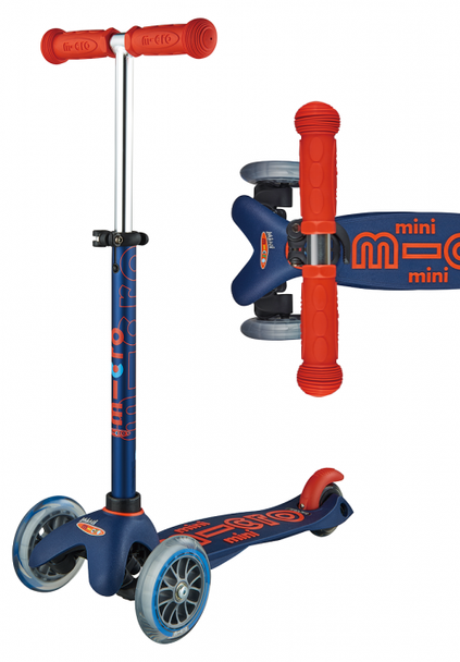 Mini Deluxe Scooter-Navy
