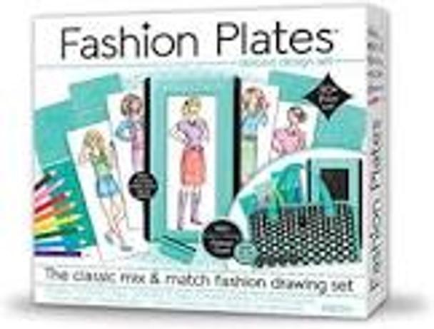 Fashion Plates Drawing Set