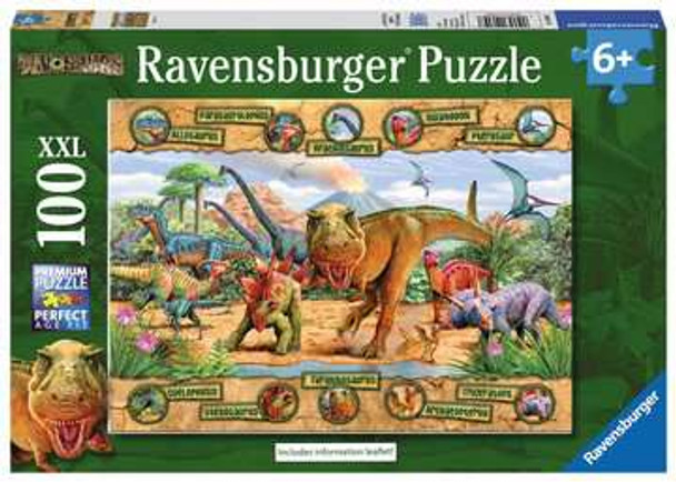 Dinosaur 100 pc XXL Puzzle