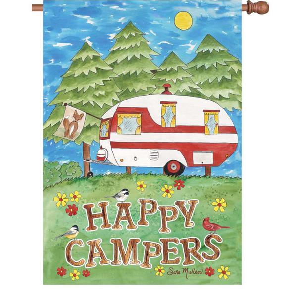 Camping Fun Banner