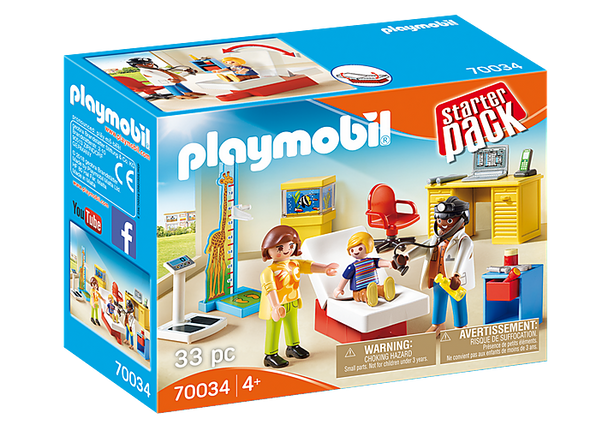 Pediatrician Office Starter Pack - Playmobil