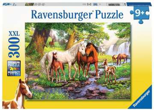 Horses by the Stream 300 pc XXL